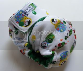 One Size  Fitted Cloth Diaper Nesting Dolls