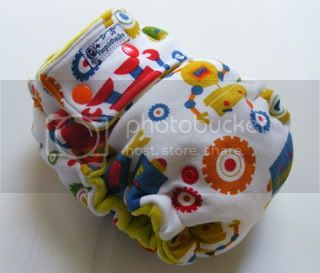 One Size  Fitted Cloth Diaper Robots