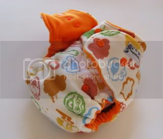 One Size Extreme Fitted Cloth Diaper Sesame Street