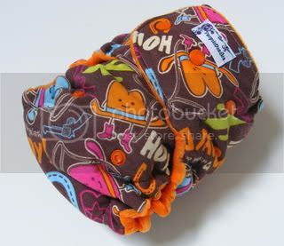 One Size  Fitted Cloth Diaper Howdy