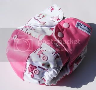 One Size AI2 Cloth Diaper Princess Scrapsiedoodles