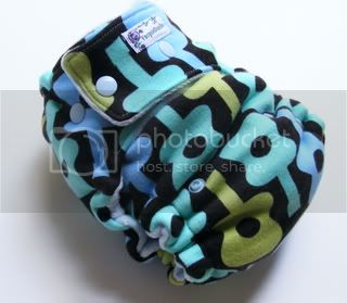 One Size  Fitted Cloth Diaper Guitars