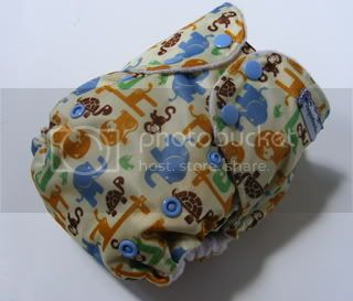One Size AI2 Cloth Diaper Safari