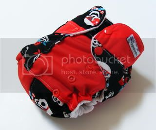 One Size AI2 Cloth Diaper Pirate babies Scrapsiedoodle
