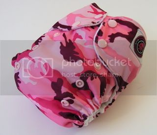 One Size AI2 Cloth Diaper Girlie Camo